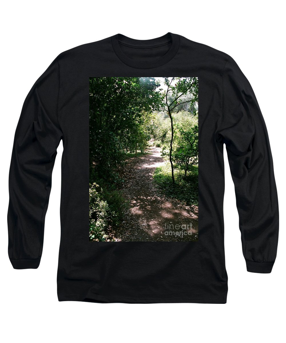 Path Long Sleeve T-Shirt featuring the photograph Path by Dean Triolo