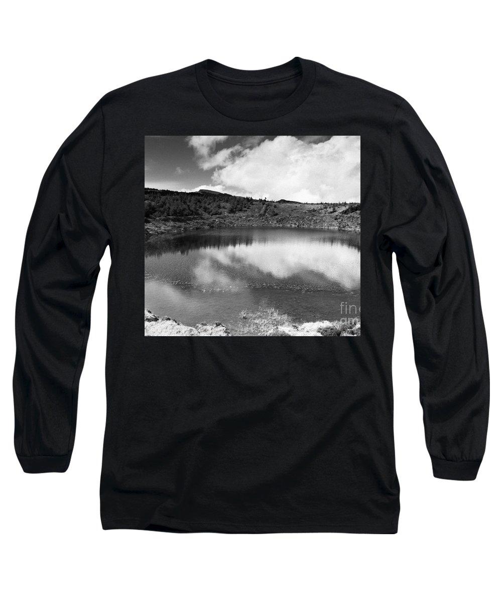 Lake Long Sleeve T-Shirt featuring the photograph Pau-pique Lake by Gaspar Avila