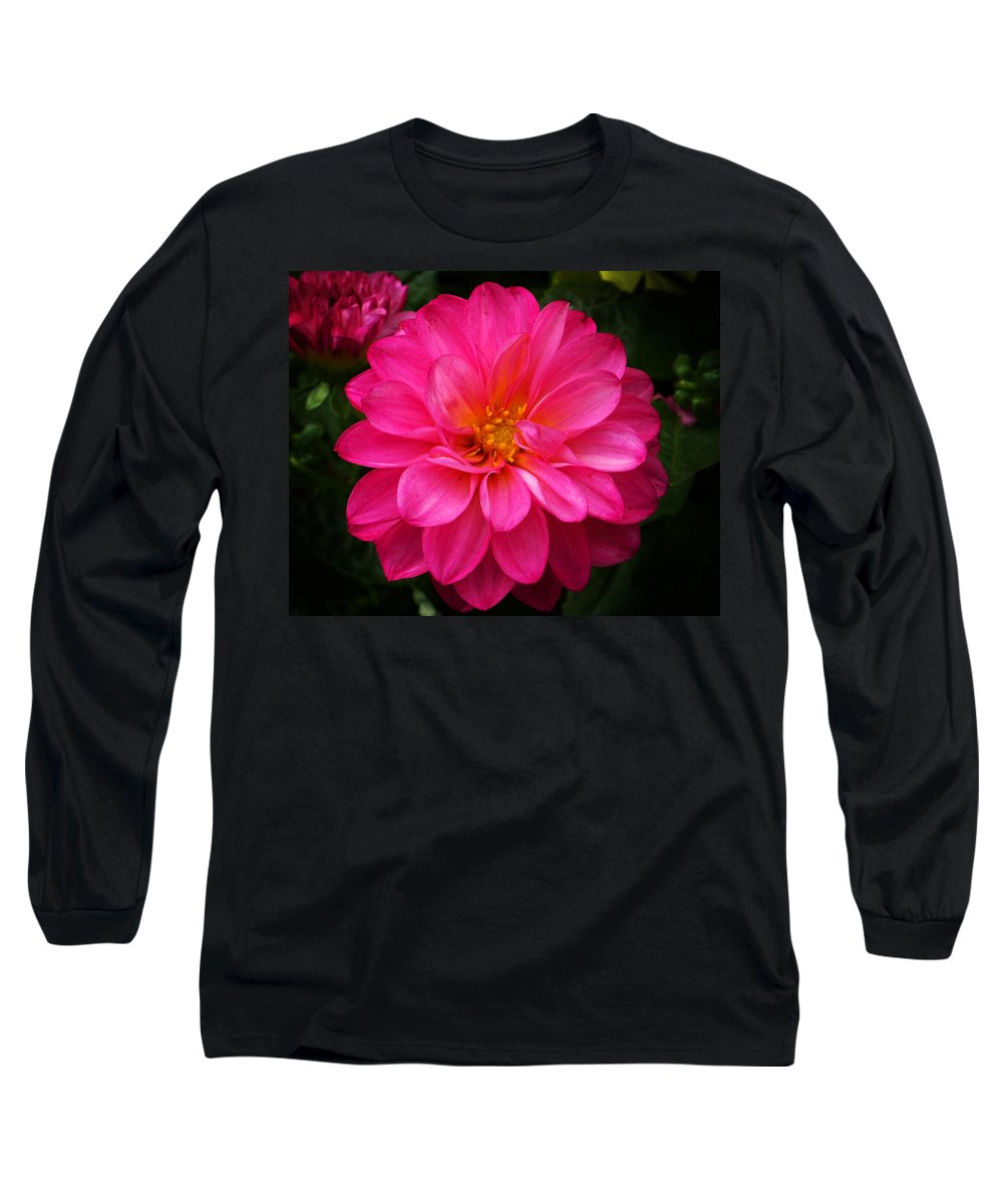 Flower Long Sleeve T-Shirt featuring the photograph Pink Flower by Anthony Jones
