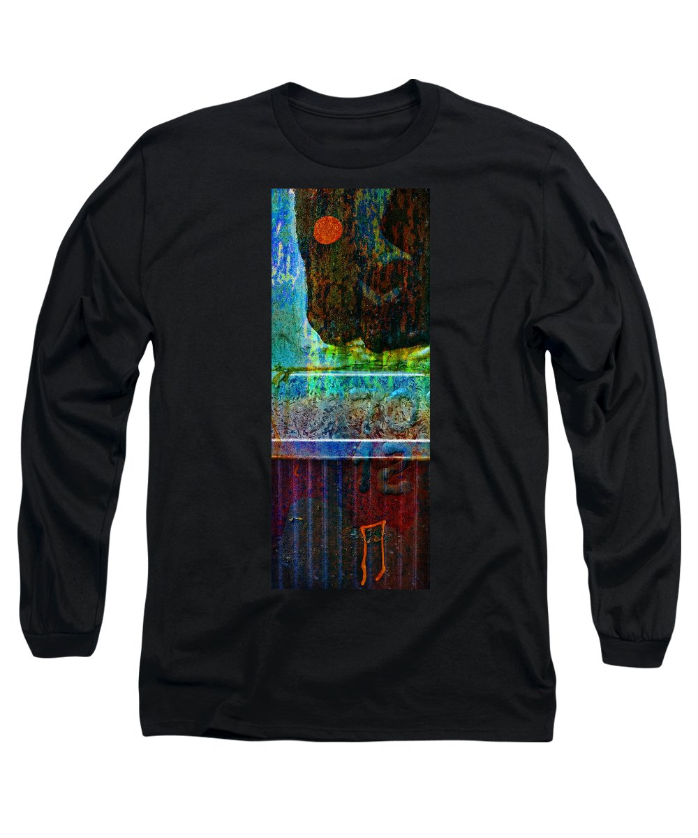 Pi Long Sleeve T-Shirt featuring the photograph piNsky by Skip Hunt