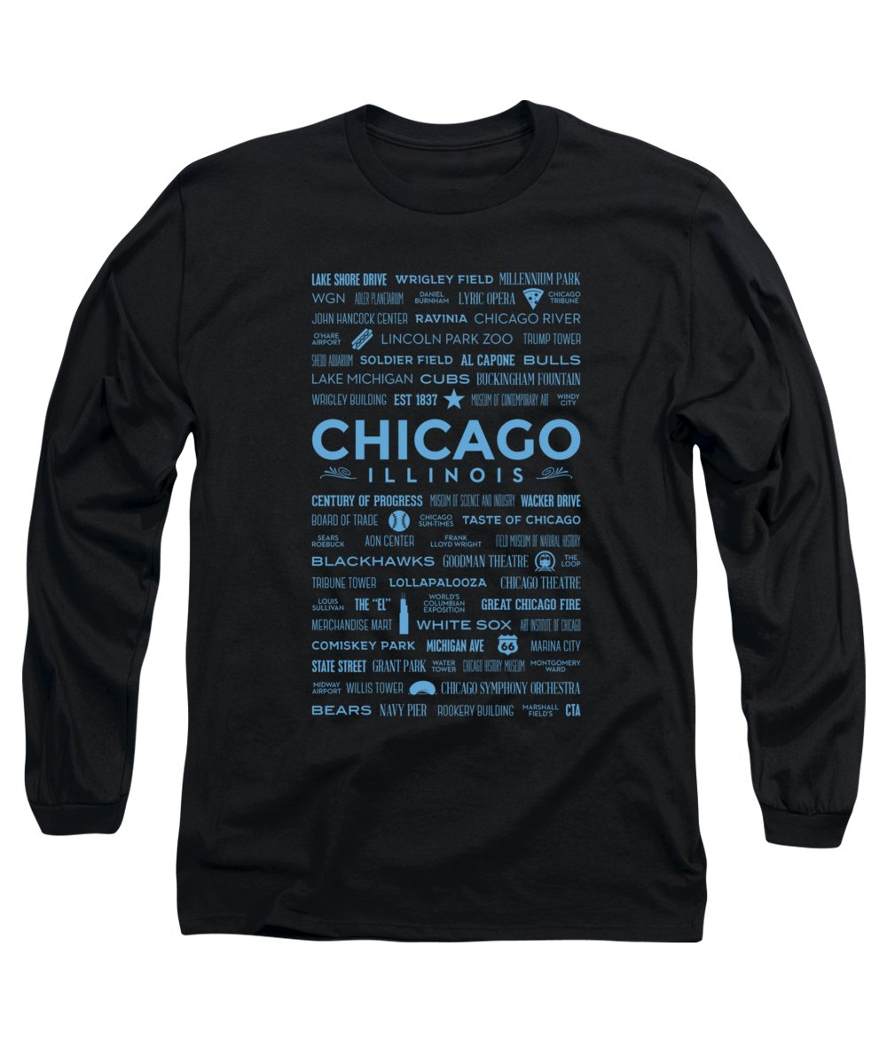 Soldier Field Long Sleeve T-Shirts