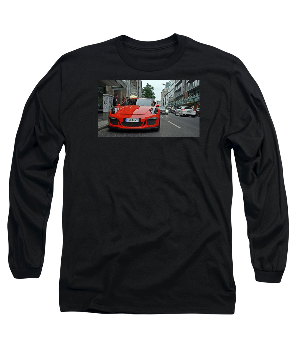 Racing Cars Long Sleeve T-Shirts