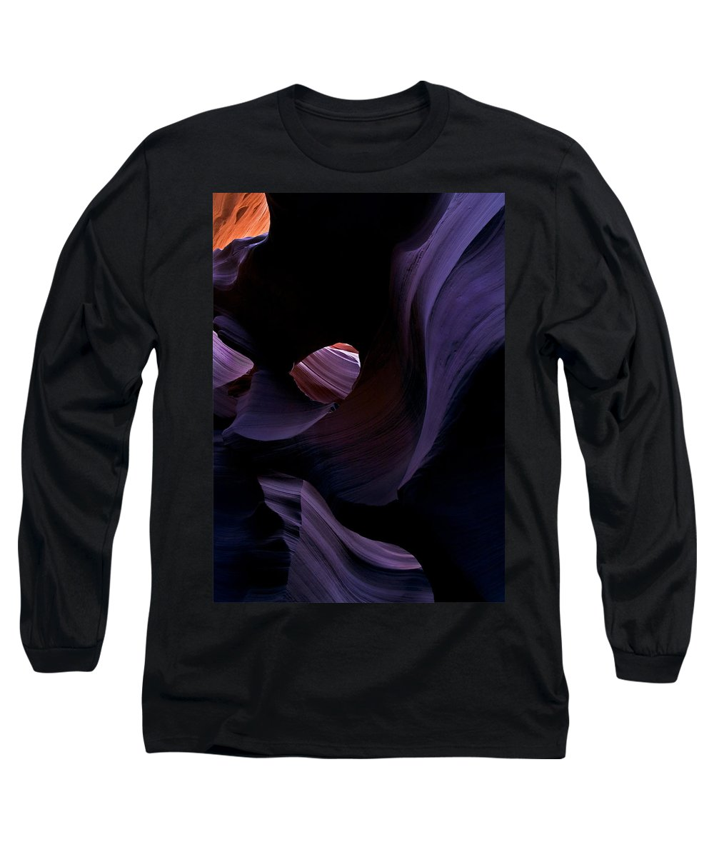 Desert Long Sleeve T-Shirt featuring the photograph Portal by Mike Dawson