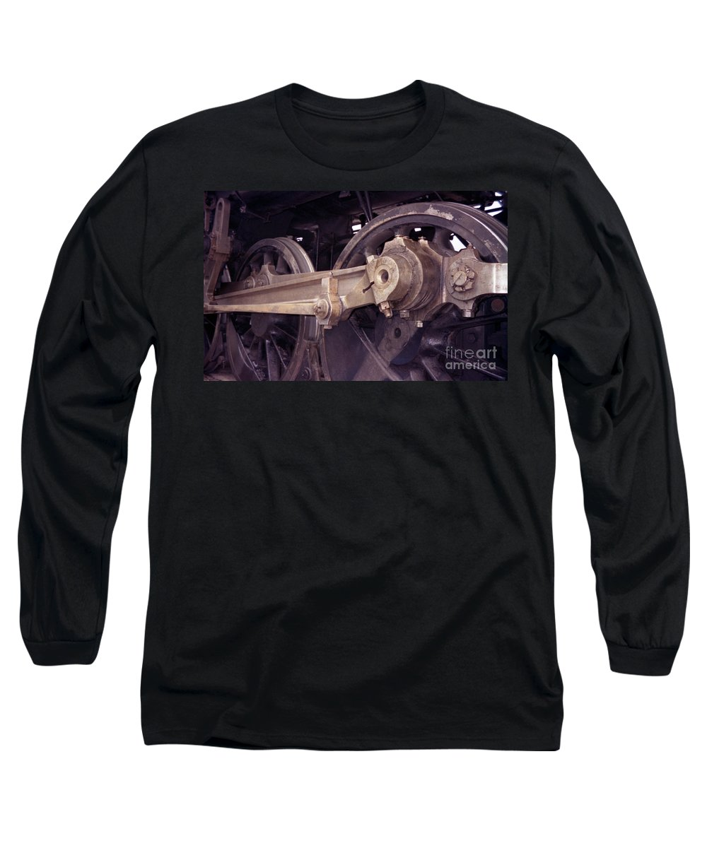 Trains Long Sleeve T-Shirt featuring the photograph Power Train by Richard Rizzo