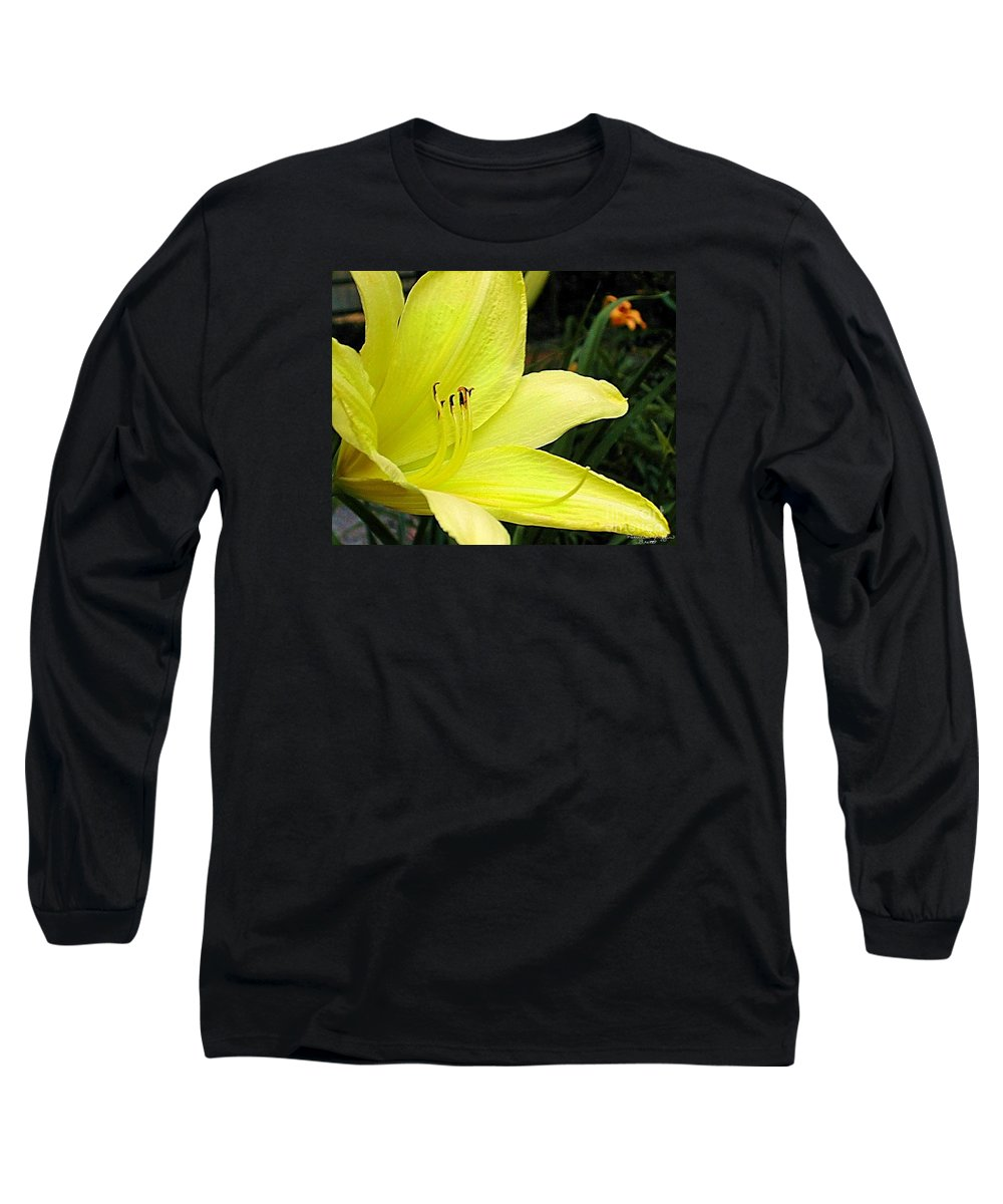 Fine Art Photography Long Sleeve T-Shirt featuring the photograph Pure Sunshine by Patricia Griffin Brett
