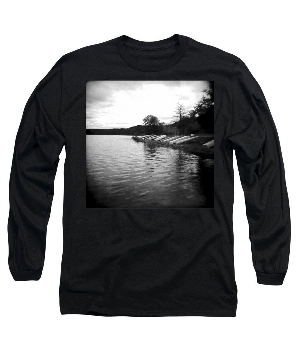 Photograph Long Sleeve T-Shirt featuring the photograph Ready And Waiting by Jean Macaluso