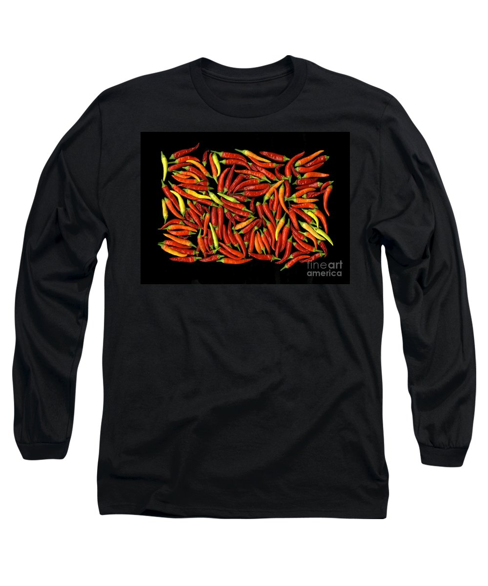 Color Long Sleeve T-Shirt featuring the photograph Red Hots by Christian Slanec