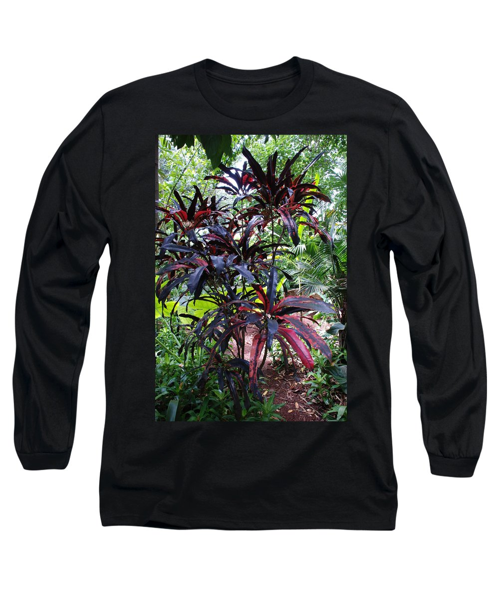 Red Long Sleeve T-Shirt featuring the photograph Red Trees by Rob Hans