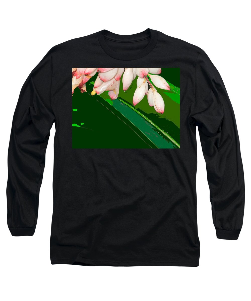 Flowers Long Sleeve T-Shirt featuring the photograph Romney White by Ian MacDonald