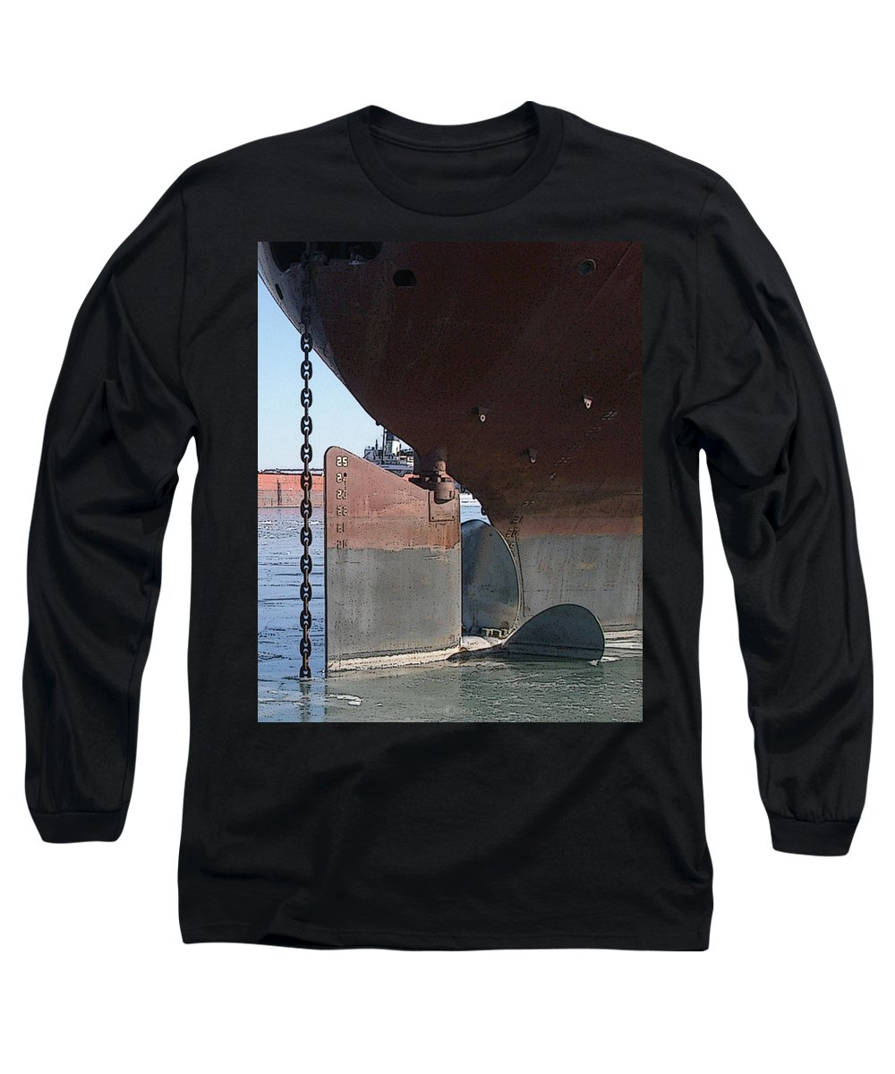 Prop Long Sleeve T-Shirt featuring the photograph Ryerson Prop by Tim Nyberg