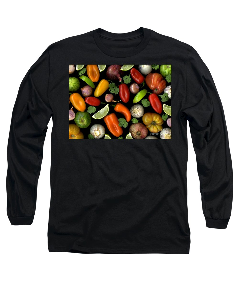 Culinary Long Sleeve T-Shirt featuring the photograph Salsa by Christian Slanec