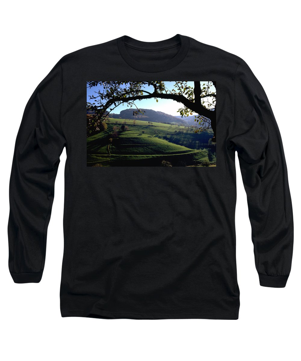 Schwarzwald Long Sleeve T-Shirt featuring the photograph Schwarzwald by Flavia Westerwelle
