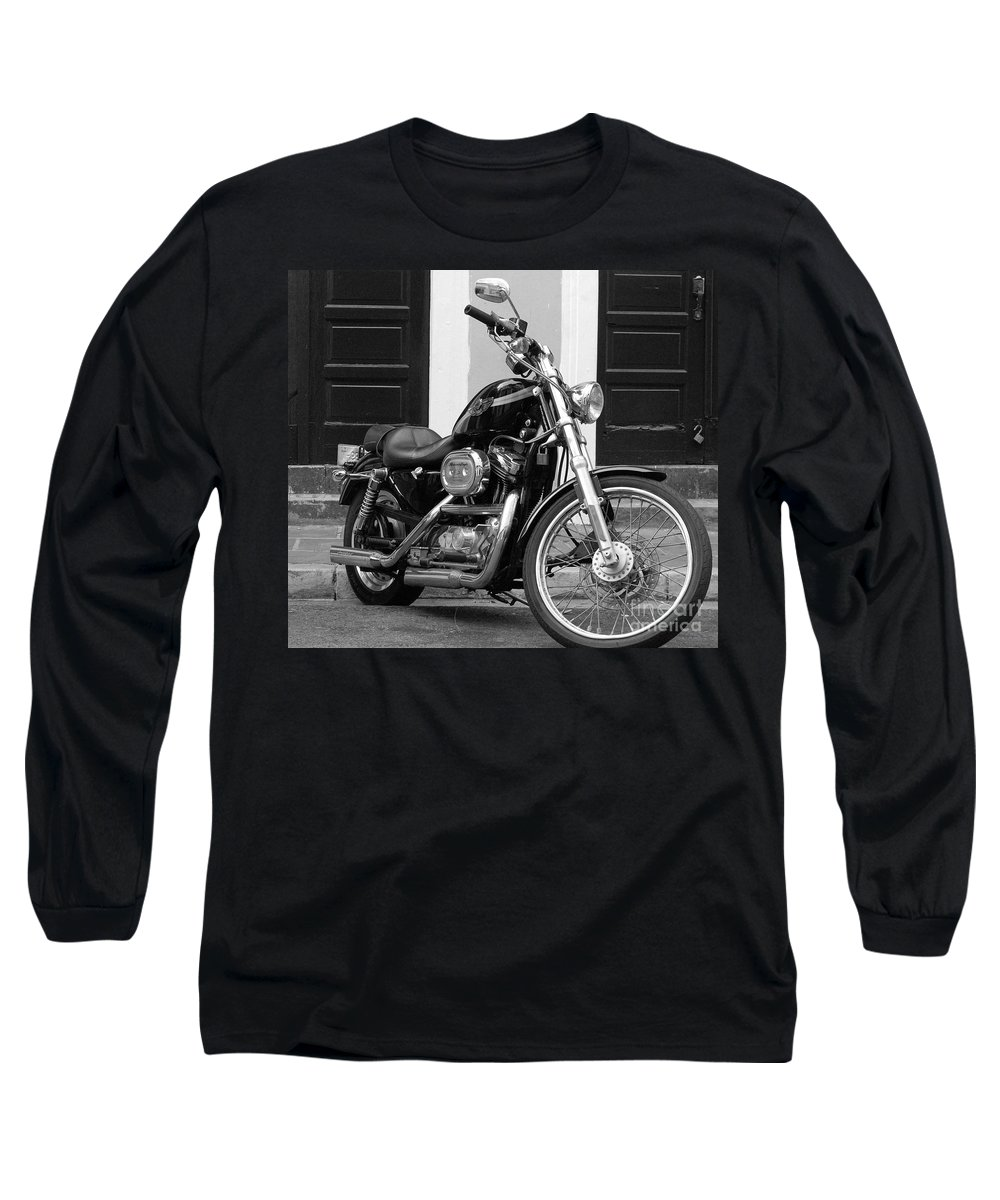 Motorcycle Long Sleeve T-Shirt featuring the photograph Screamin Eagle by Debbi Granruth