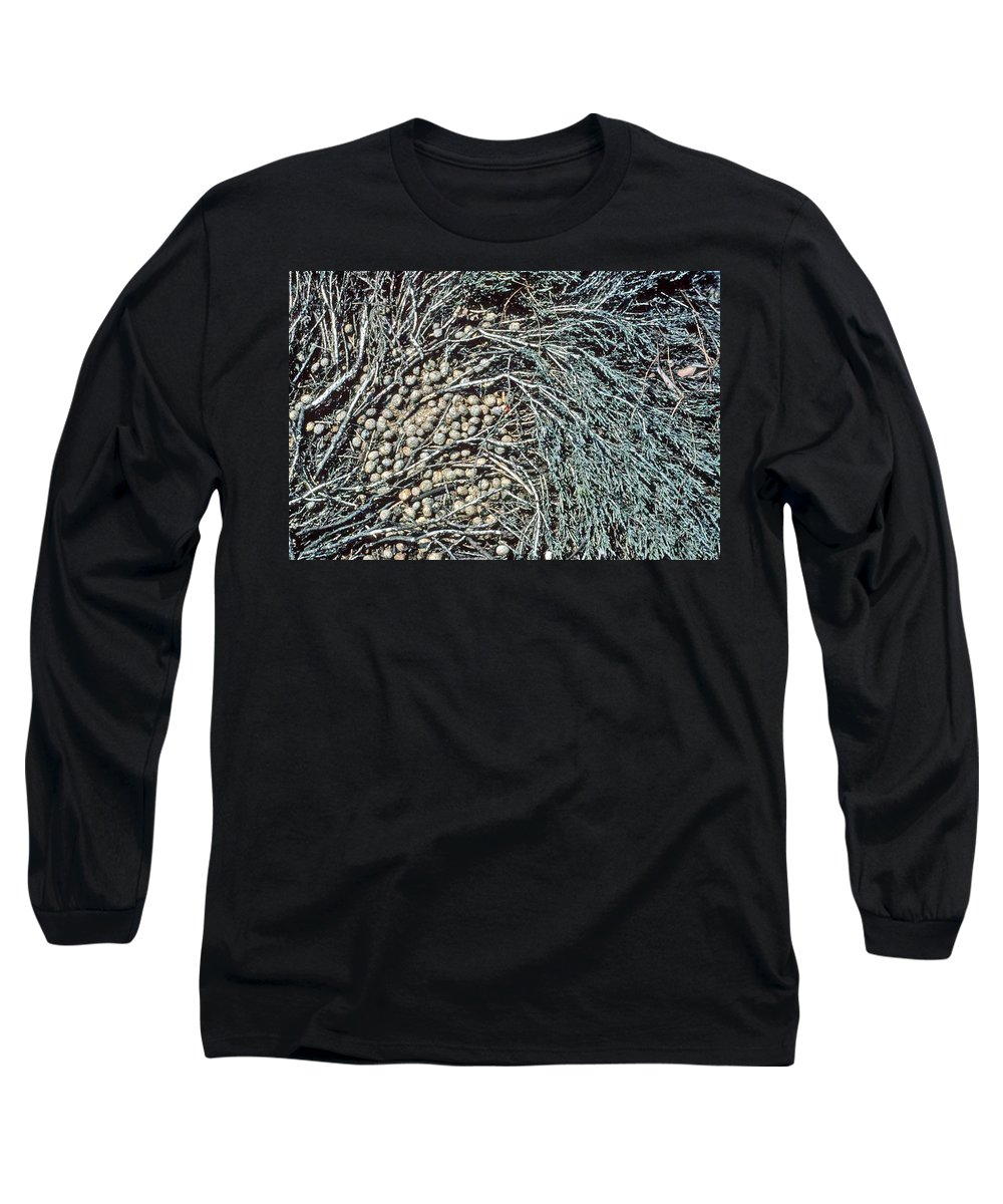 Seeds Long Sleeve T-Shirt featuring the photograph Seeds Of The Sea by Laurie Paci