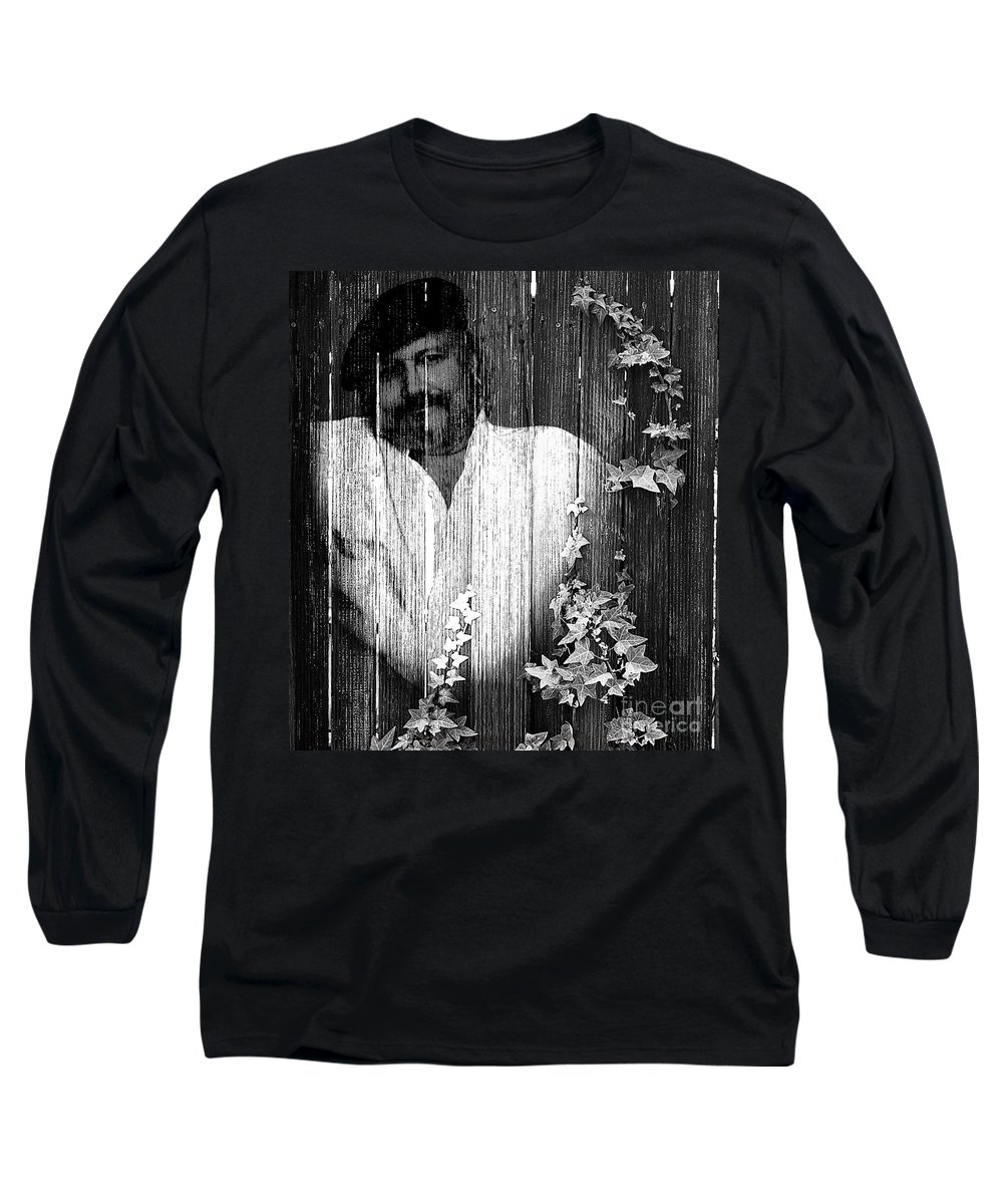 Clay Long Sleeve T-Shirt featuring the photograph Self Portrait by Clayton Bruster