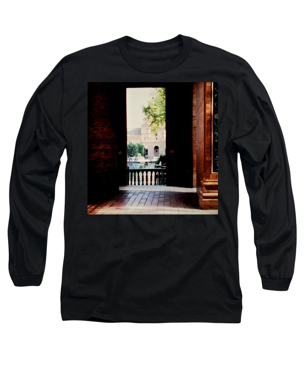 Seville Long Sleeve T-Shirt featuring the photograph Seville by Ian MacDonald