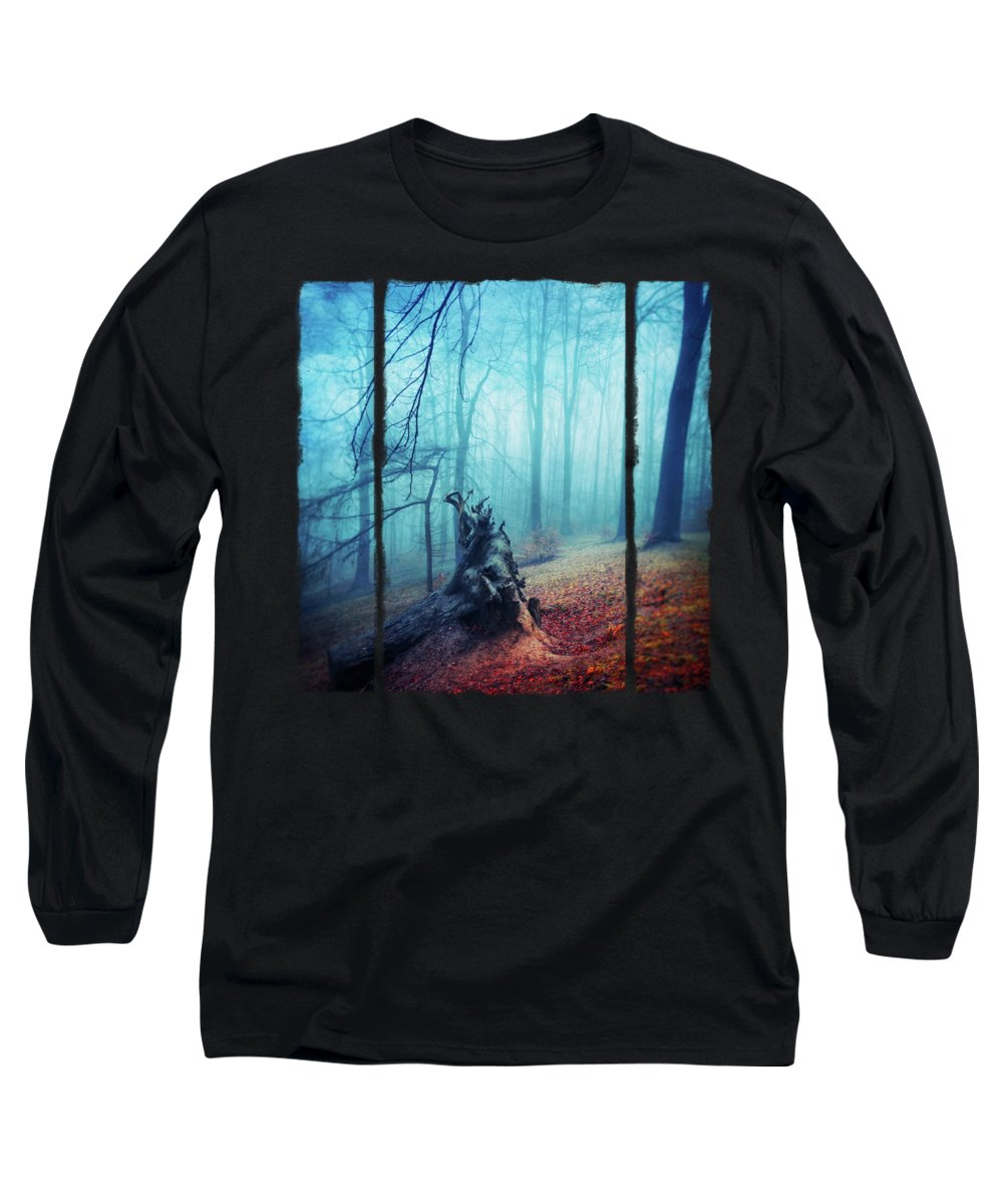 Fallen Tree Photographs Long Sleeve T-Shirts