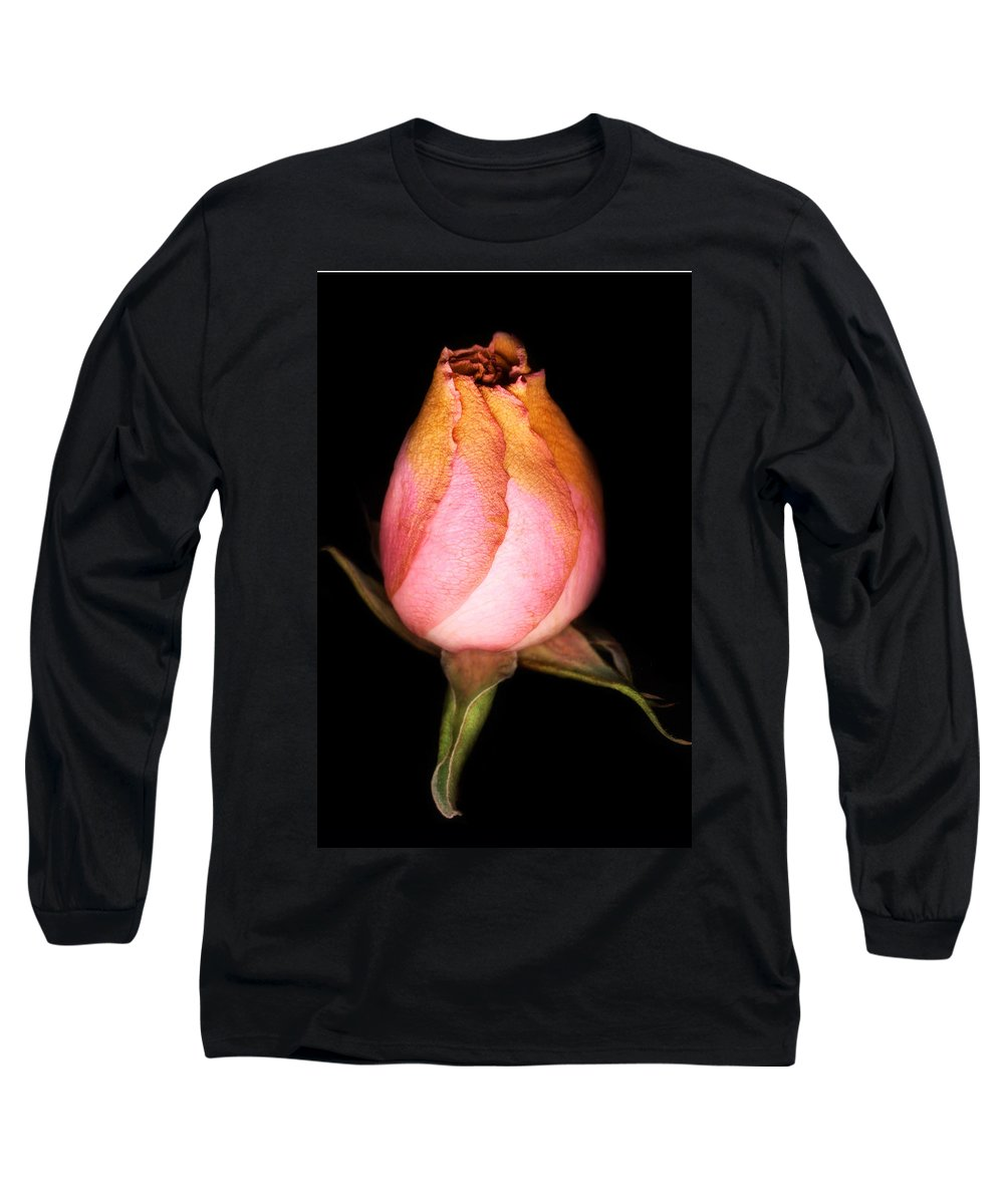 Rose Long Sleeve T-Shirt featuring the photograph single Rose by Marilyn Hunt