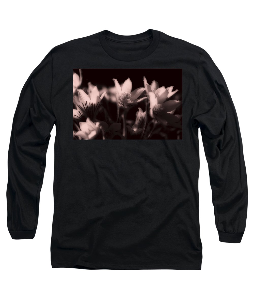 Flowers Long Sleeve T-Shirt featuring the photograph Sleepy Flowers 2 by Marilyn Hunt