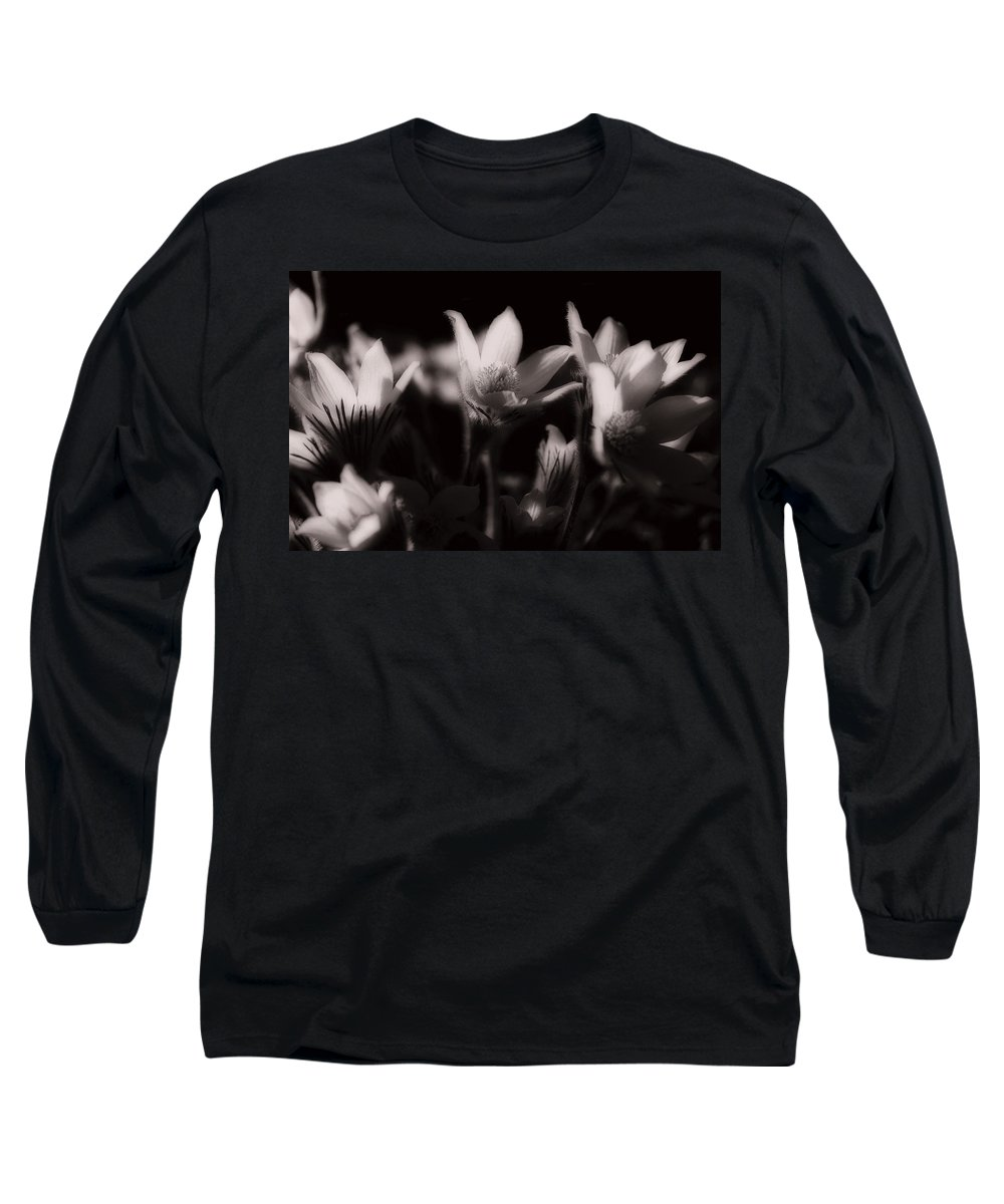 Flowers Long Sleeve T-Shirt featuring the photograph Sleepy Flowers by Marilyn Hunt