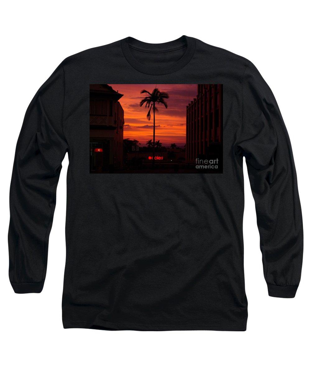 Innisfail Long Sleeve T-Shirt featuring the photograph Solitary Passage by Kerryn Madsen- Pietsch