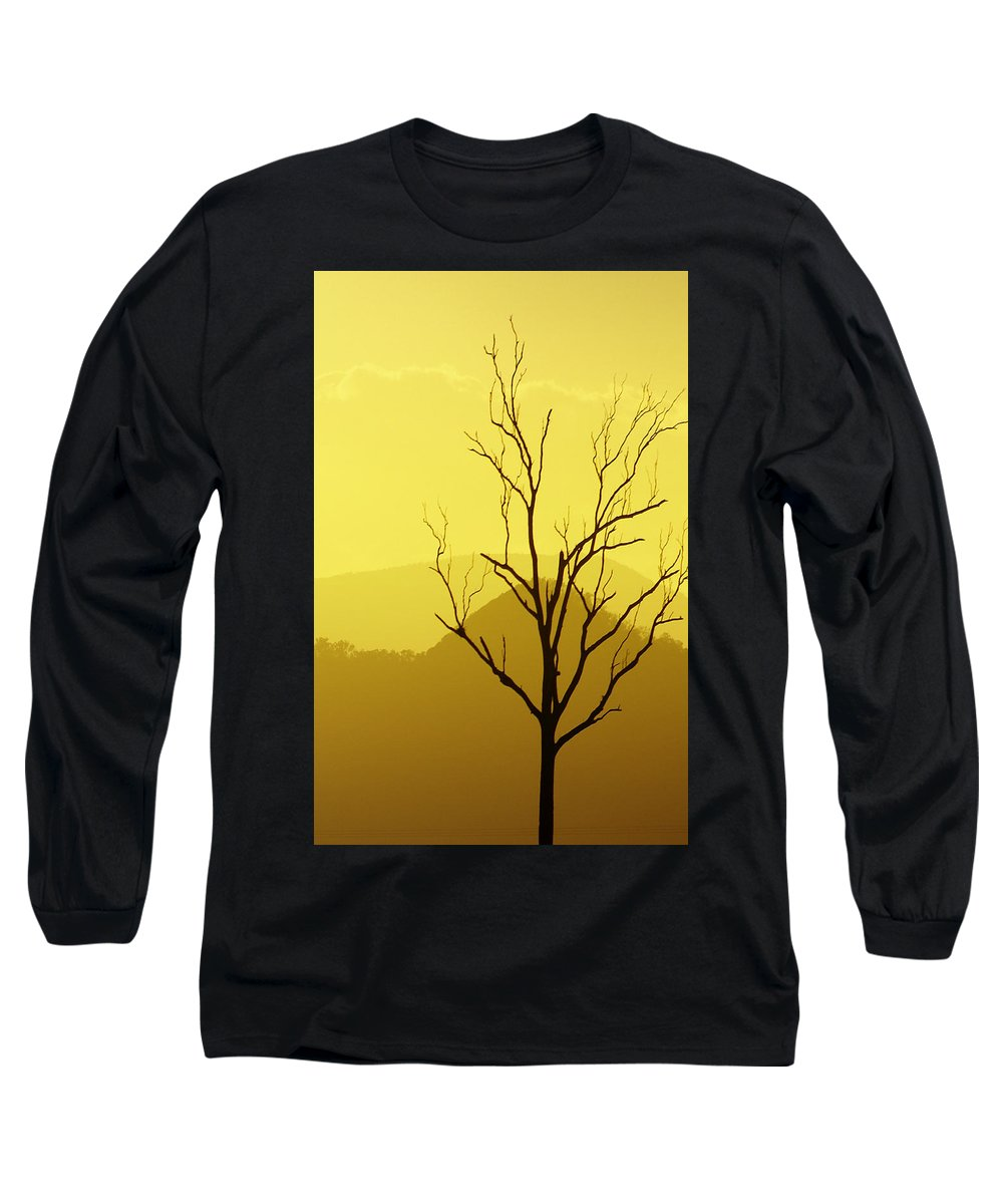 Landscape Long Sleeve T-Shirt featuring the photograph Solitude by Holly Kempe