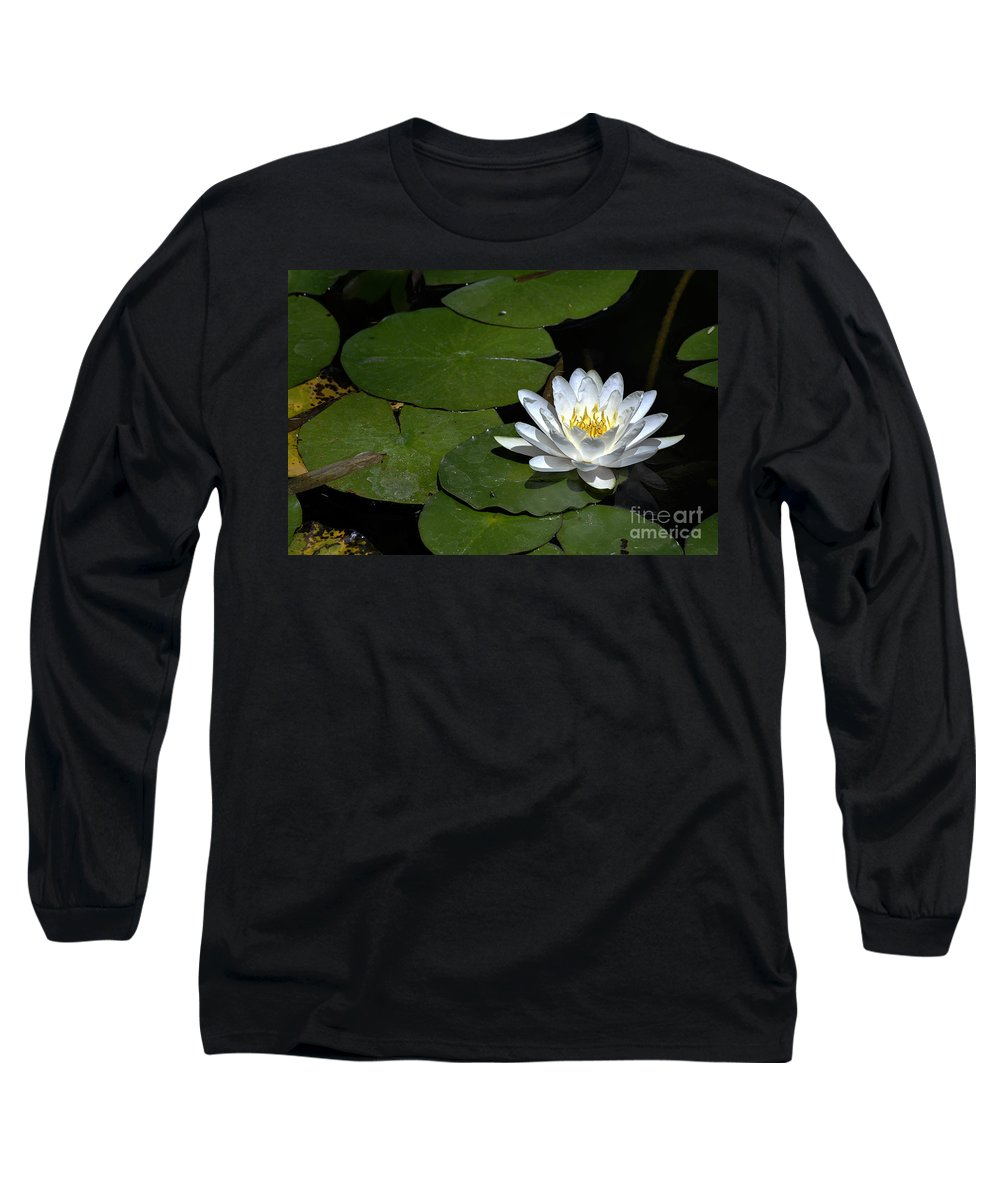 Clay Long Sleeve T-Shirt featuring the photograph Solo by Clayton Bruster
