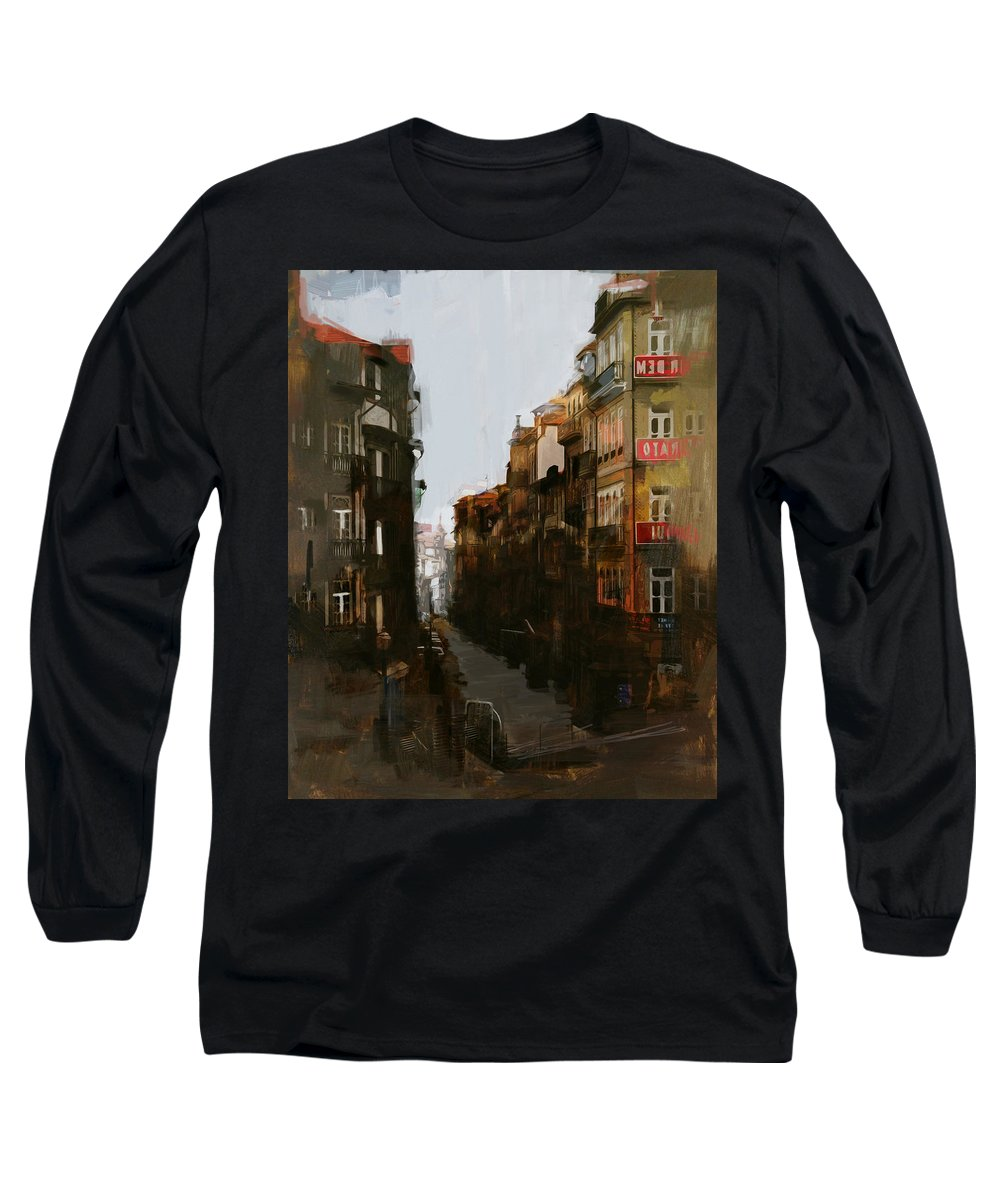 Spanish Long Sleeve T-Shirt featuring the painting Spanish Culture 12 by Corporate Art Task Force