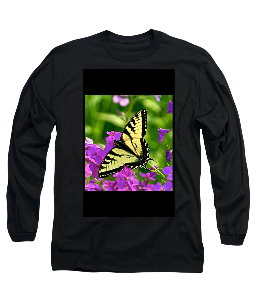Butterfly Long Sleeve T-Shirt featuring the photograph Spring Glory by Robert Pearson