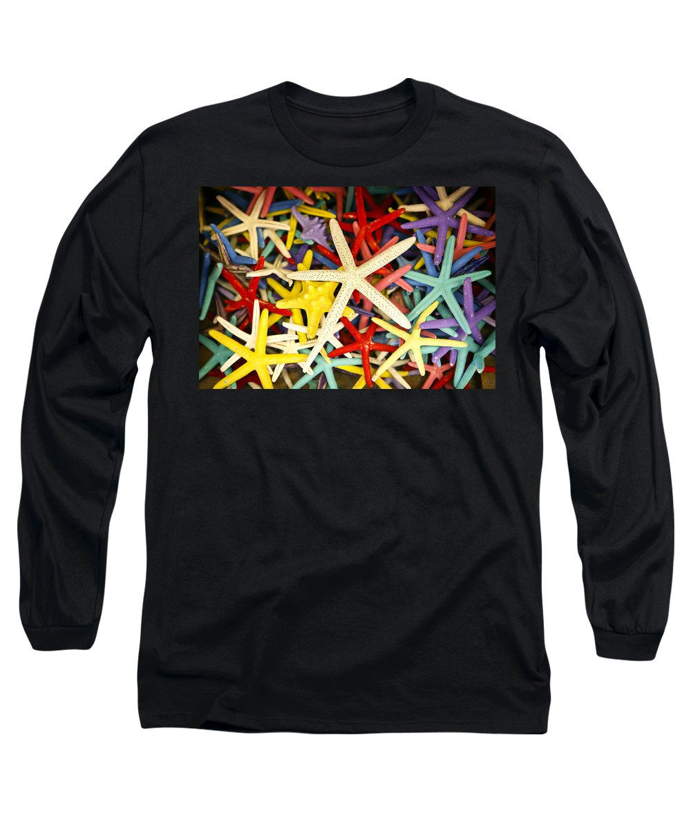 Starfish Long Sleeve T-Shirt featuring the photograph Starfish Dressed Up by Marilyn Hunt