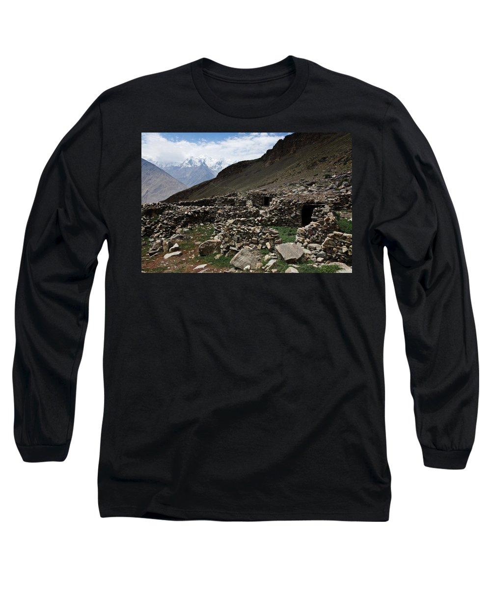 Backpacking Long Sleeve T-Shirt featuring the photograph Summer Hut by Konstantin Dikovsky