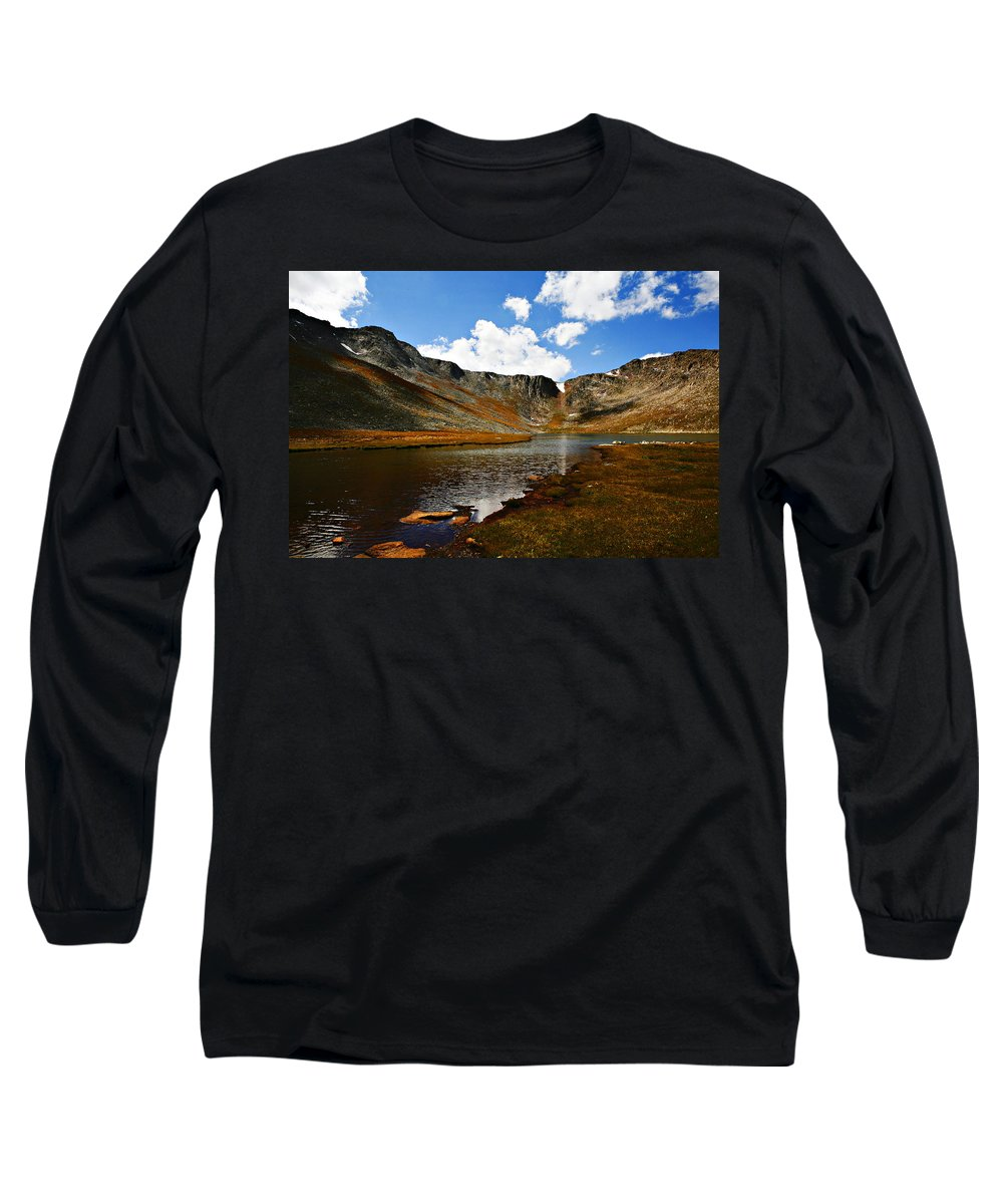 Travel Long Sleeve T-Shirt featuring the photograph Summit Lake Colorado by Marilyn Hunt