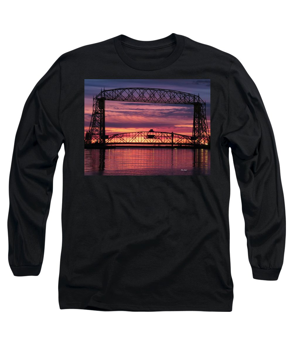 Duluth Long Sleeve T-Shirt featuring the photograph Sunday Service by Alison Gimpel