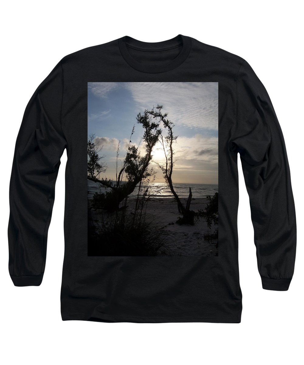 Sunset Long Sleeve T-Shirt featuring the photograph Sunset 0027 by Laurie Paci