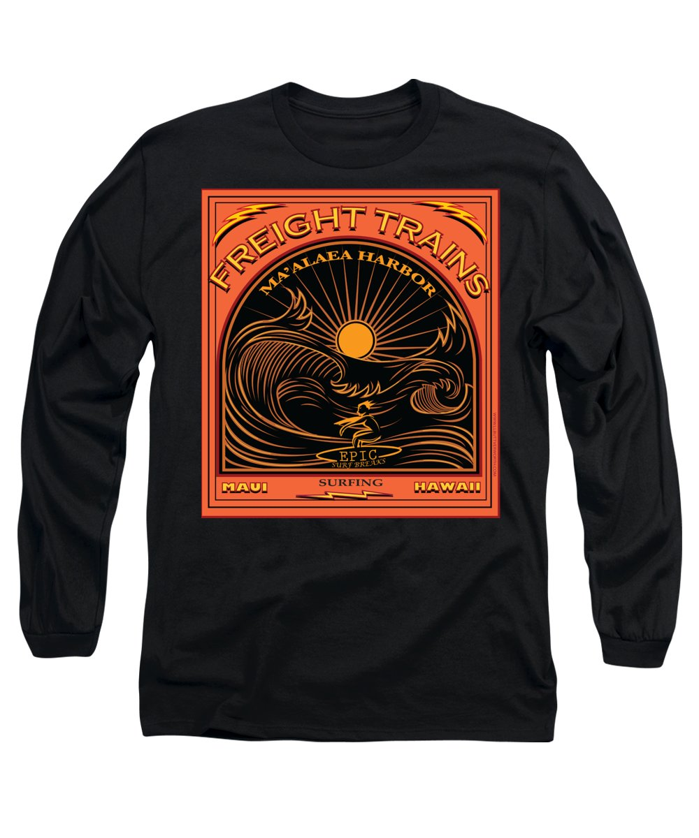 Freight Train Long Sleeve T-Shirts