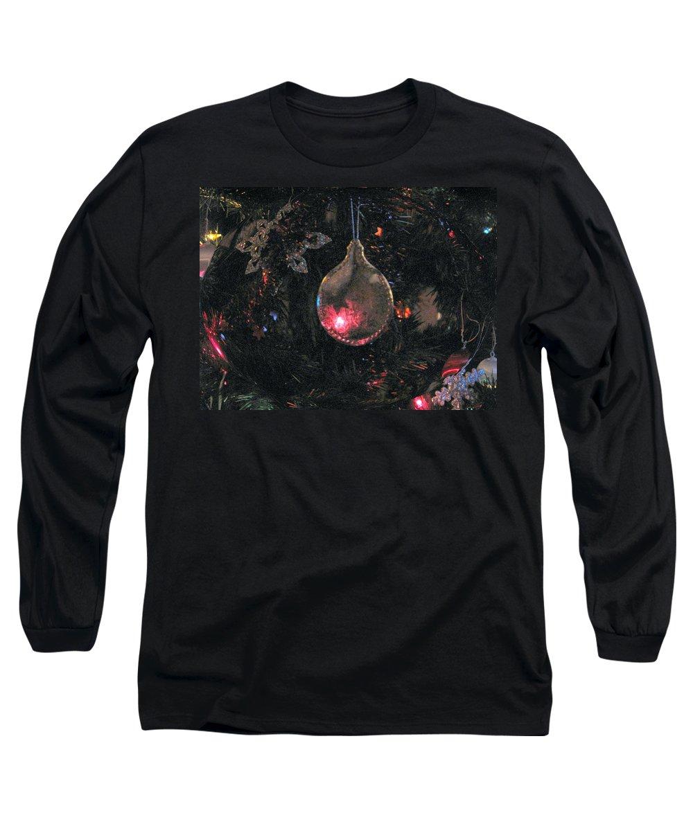 Christmas Long Sleeve T-Shirt featuring the photograph Symbol by Ian MacDonald
