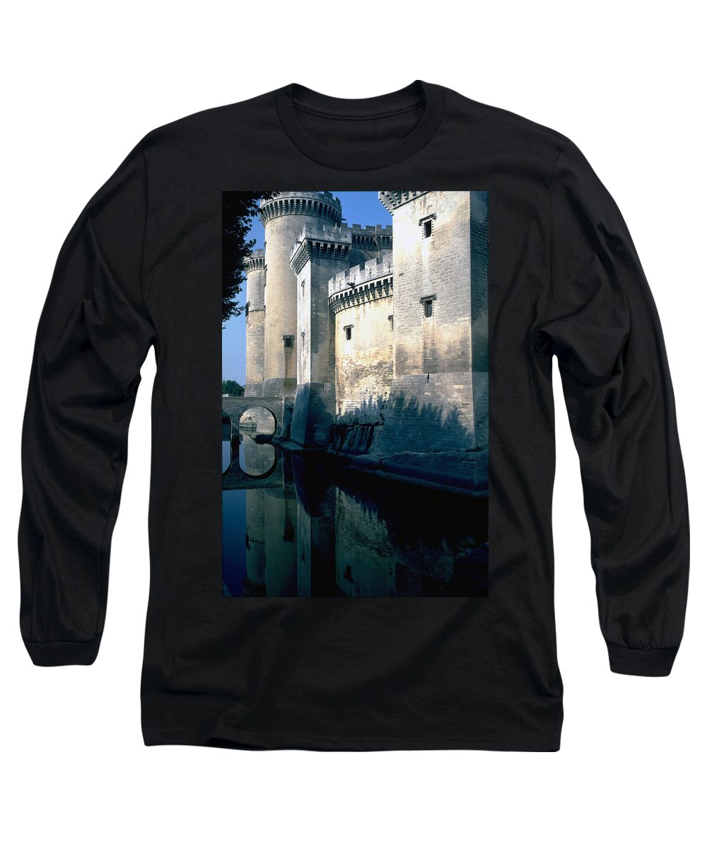 Tarragon France Castle Long Sleeve T-Shirt featuring the photograph Tarragon France by Flavia Westerwelle