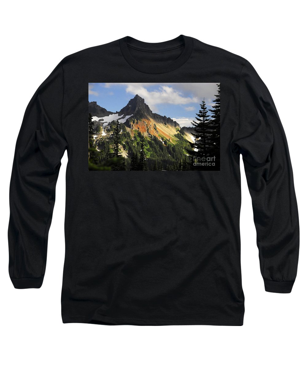 Mountains Long Sleeve T-Shirt featuring the photograph Tatosh Range by David Lee Thompson