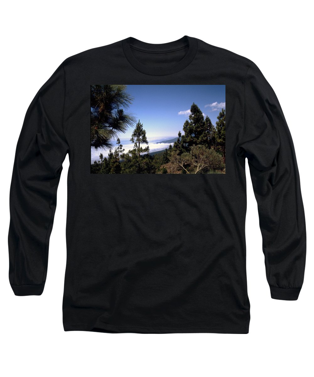 Tenerife Long Sleeve T-Shirt featuring the photograph Tenerife by Flavia Westerwelle
