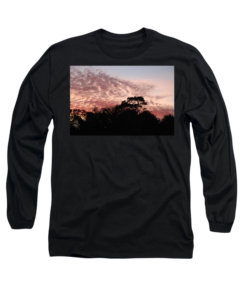 Sky Long Sleeve T-Shirt featuring the photograph Thanksgiving Sky by Rob Hans