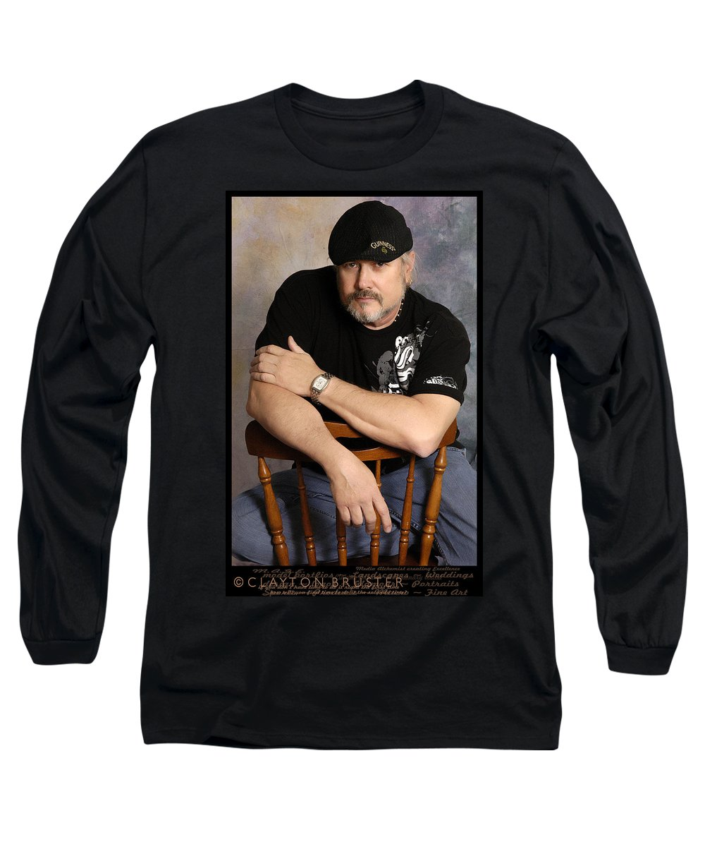 Clay Long Sleeve T-Shirt featuring the photograph The Artist by Clayton Bruster