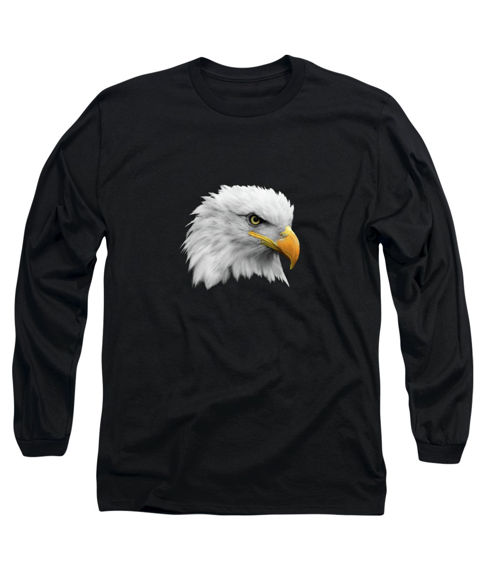 Bald Eagle Long Sleeve T-Shirt featuring the photograph The Bald Eagle by Mark Rogan