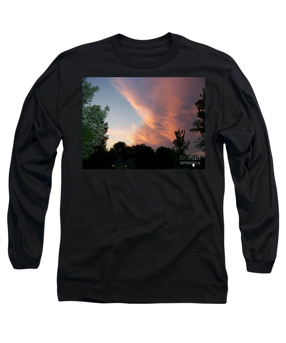 Sky Long Sleeve T-Shirt featuring the photograph The Blanket by Stephen King