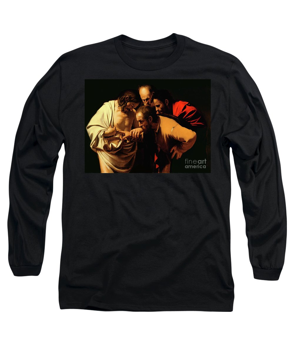 Caravaggio Paintings Long Sleeve T-Shirts
