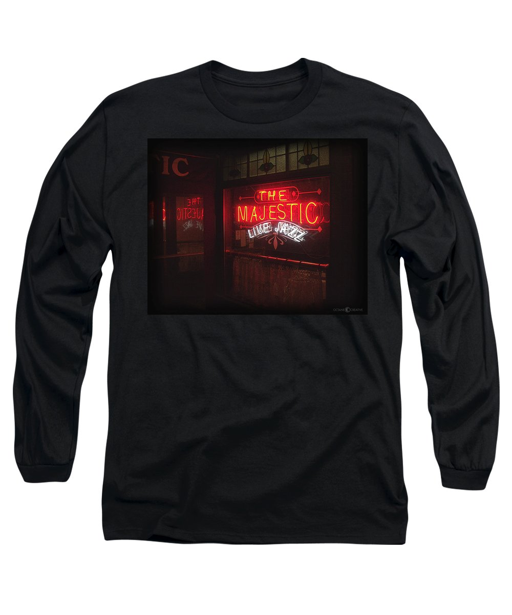 Majestic Long Sleeve T-Shirt featuring the photograph The Majestic by Tim Nyberg