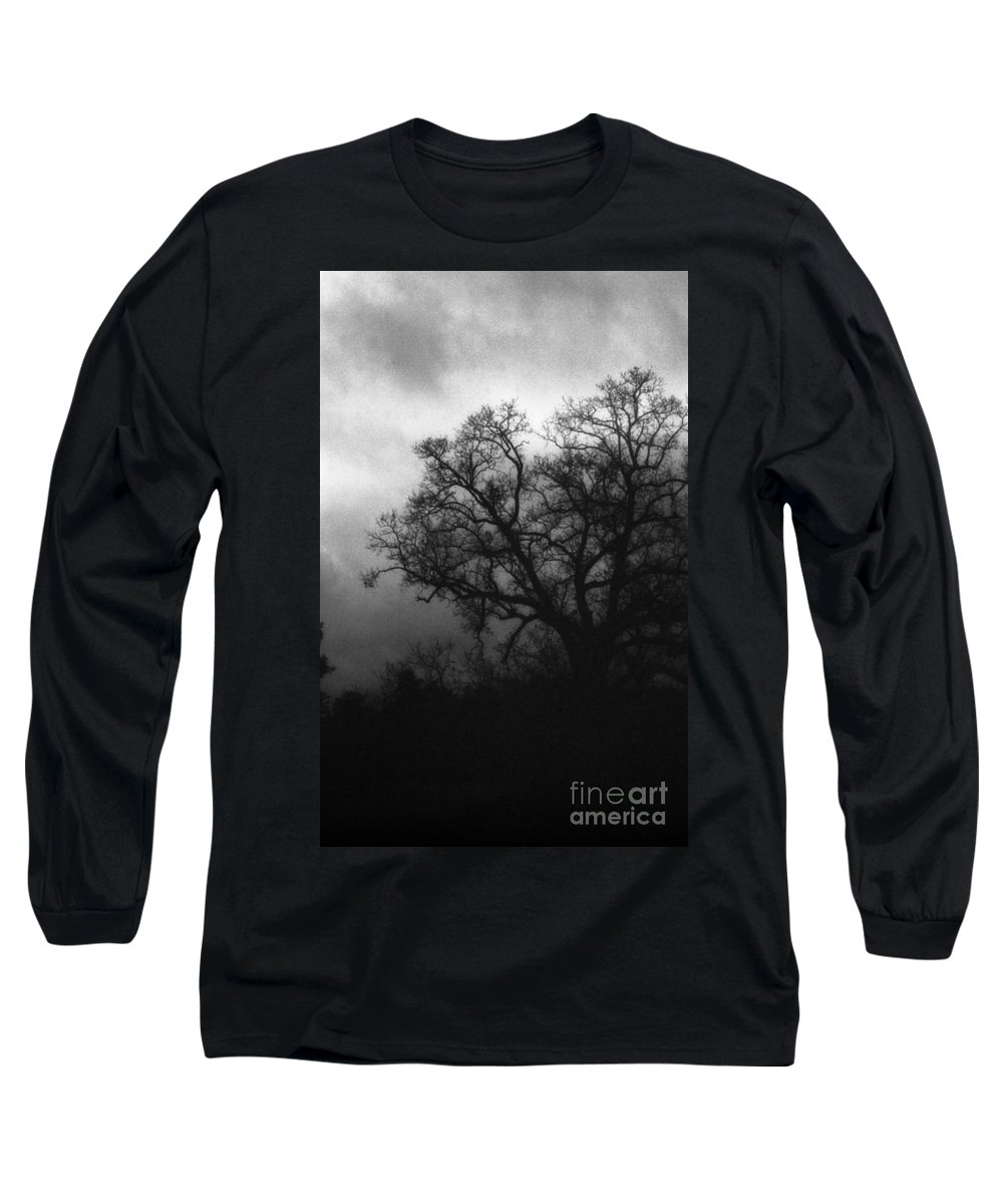 Eerie Long Sleeve T-Shirt featuring the photograph The Other Side by Richard Rizzo