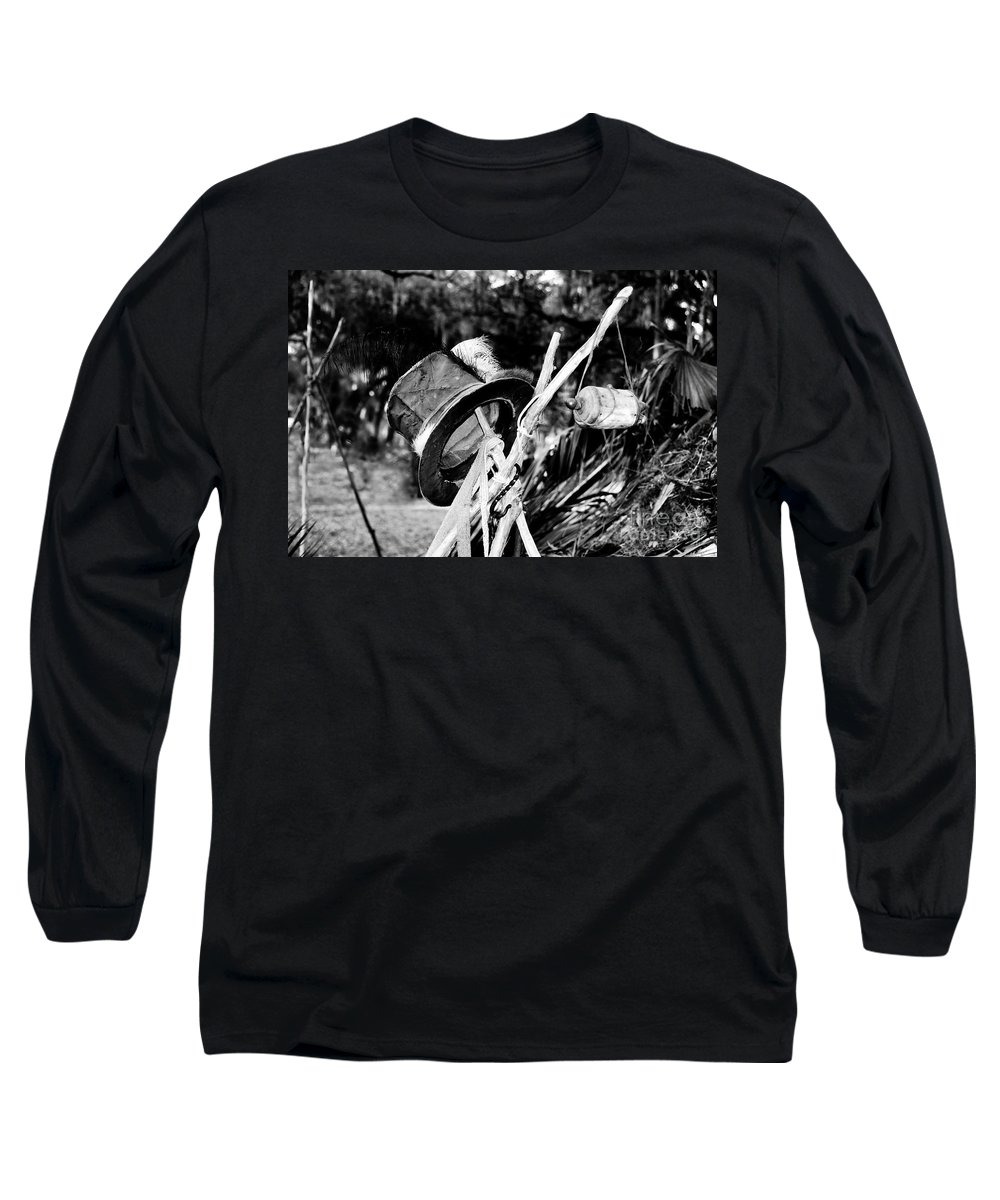 Shaman Long Sleeve T-Shirt featuring the photograph The Shaman's Hat by David Lee Thompson