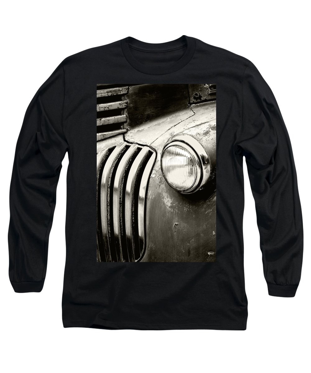 Cars Long Sleeve T-Shirt featuring the photograph Time Traveler by Holly Kempe