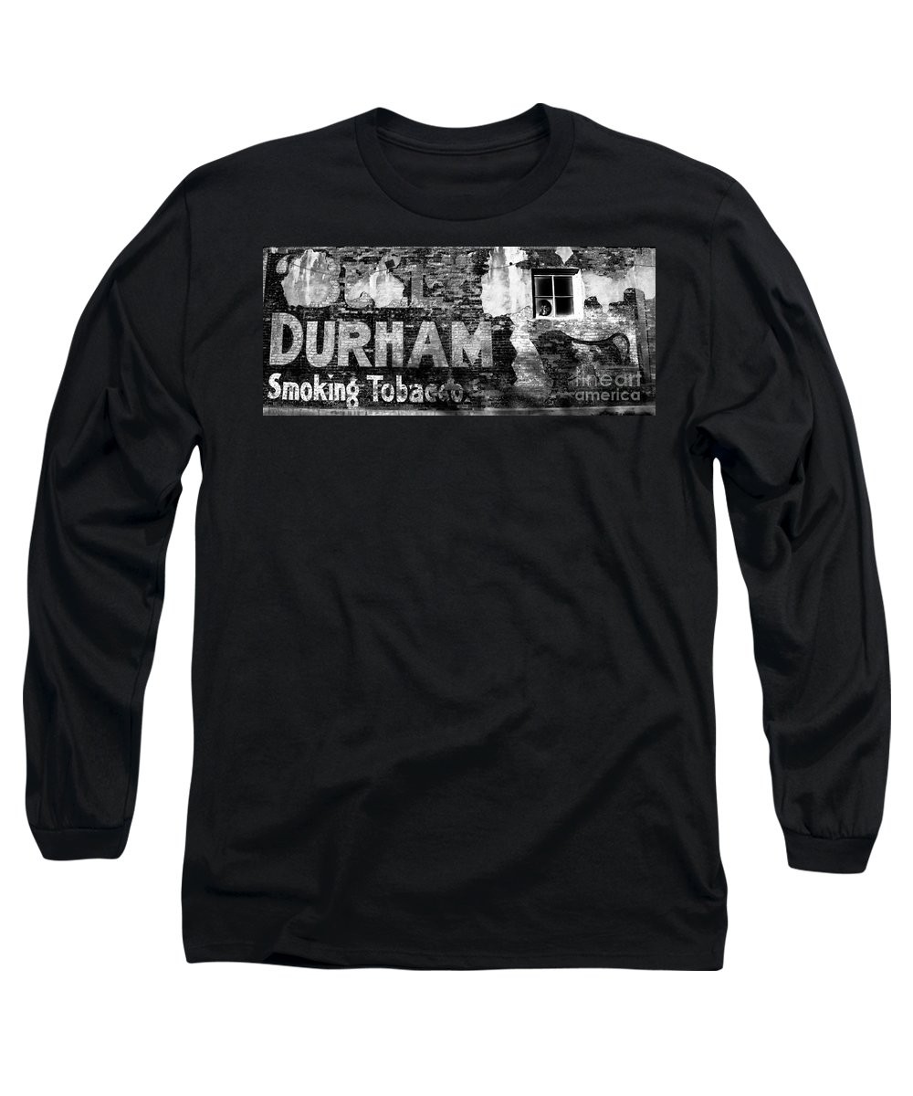 Tobacco Long Sleeve T-Shirt featuring the photograph Tobacco Days by David Lee Thompson