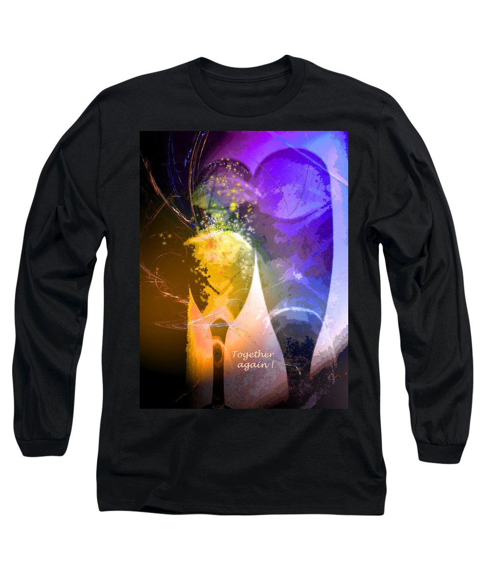 Fantasy Long Sleeve T-Shirt featuring the photograph Together Again by Miki De Goodaboom